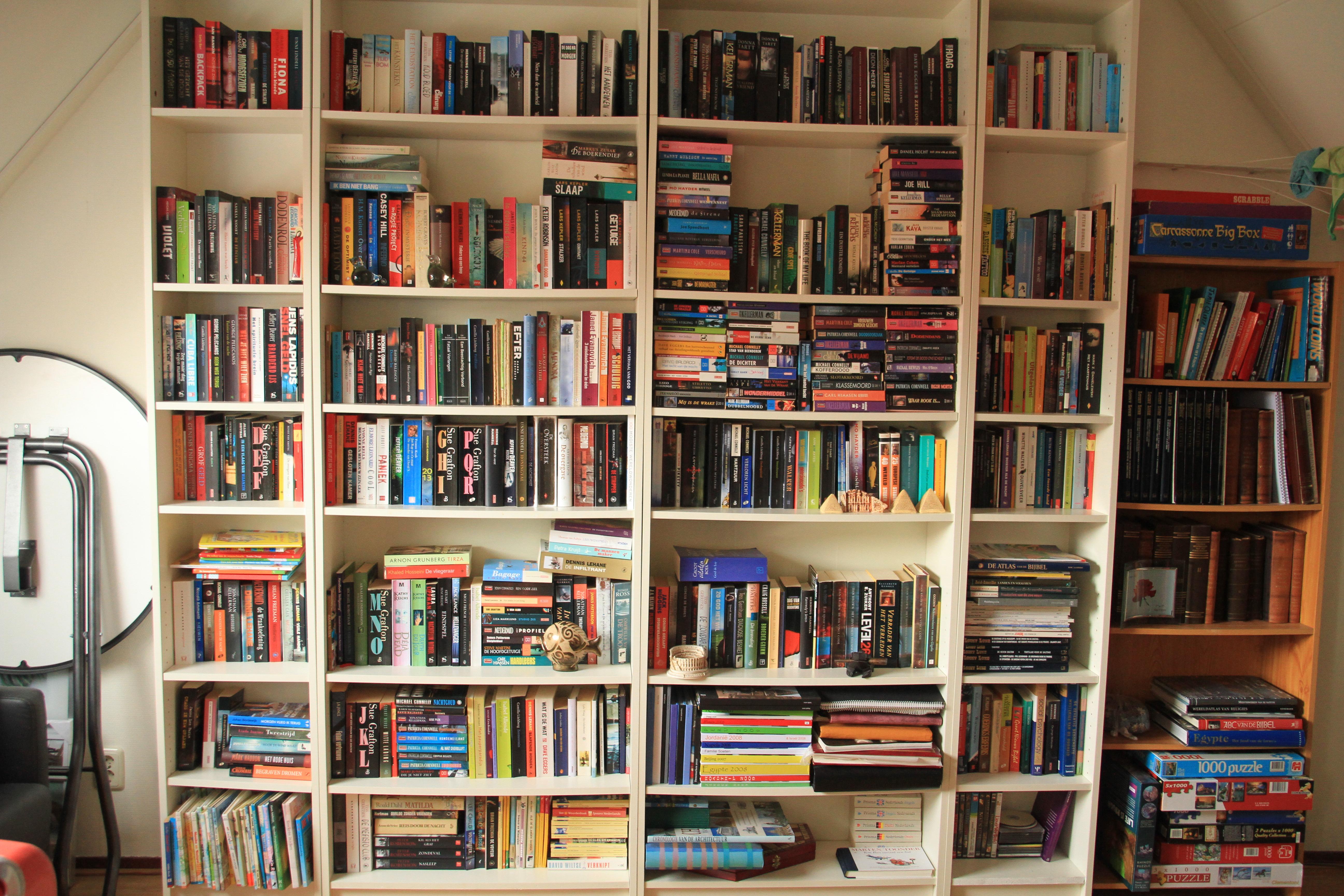 De boekenkast van..... sue   boekenz