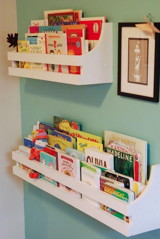 Pinteresting top 5 boekenkasten for Kids book storage diy