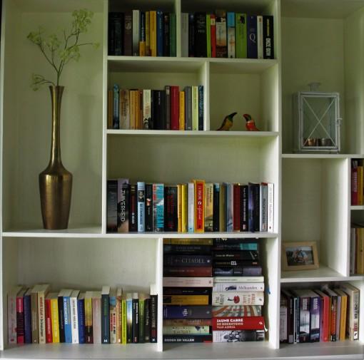 Een deel van mijn ongelezen boeken
