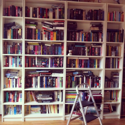 201402 Boekenkast met trapje