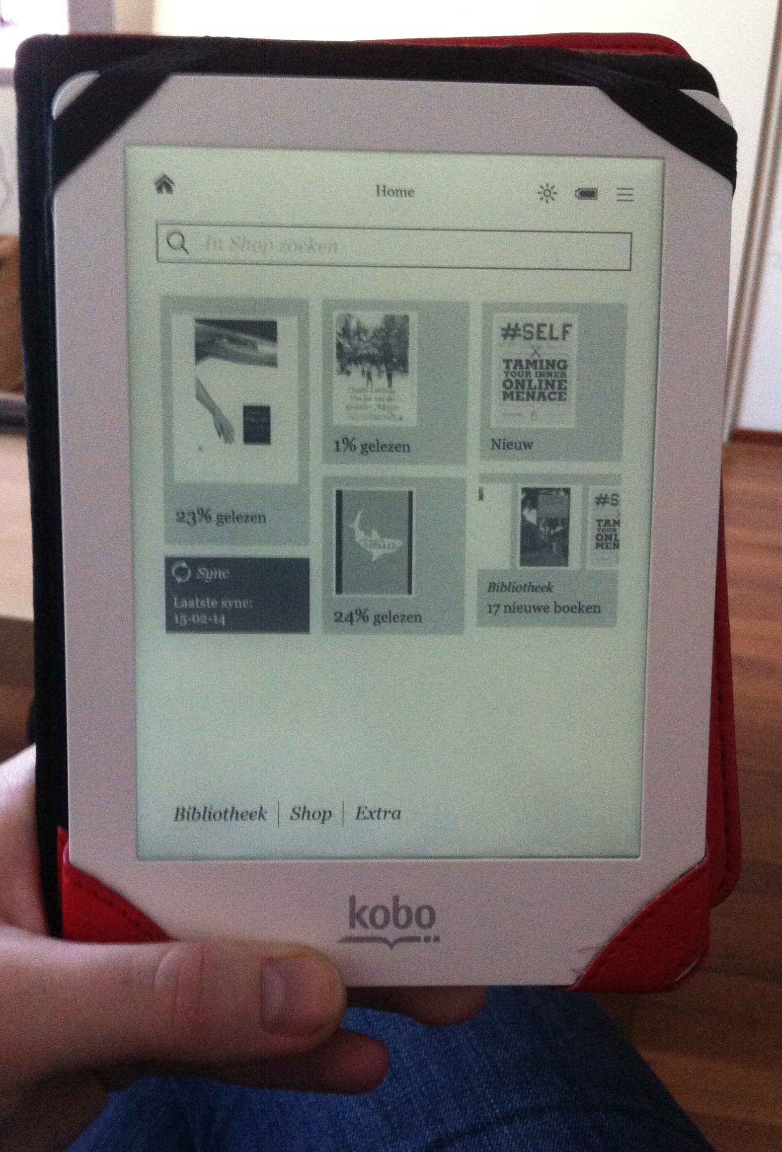Review - Kobo Glo | Boekenz