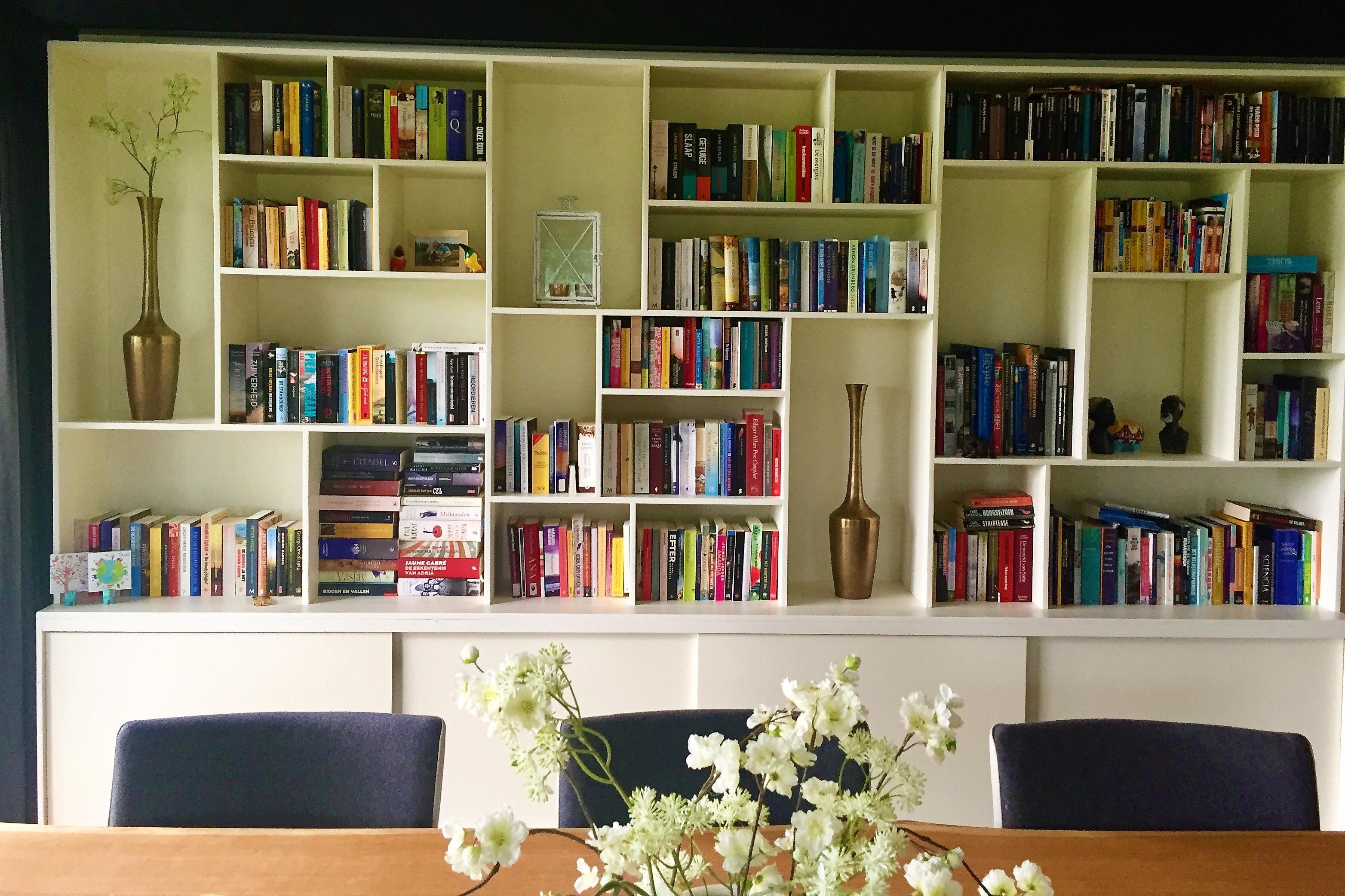 Chaos in de boekenkasten