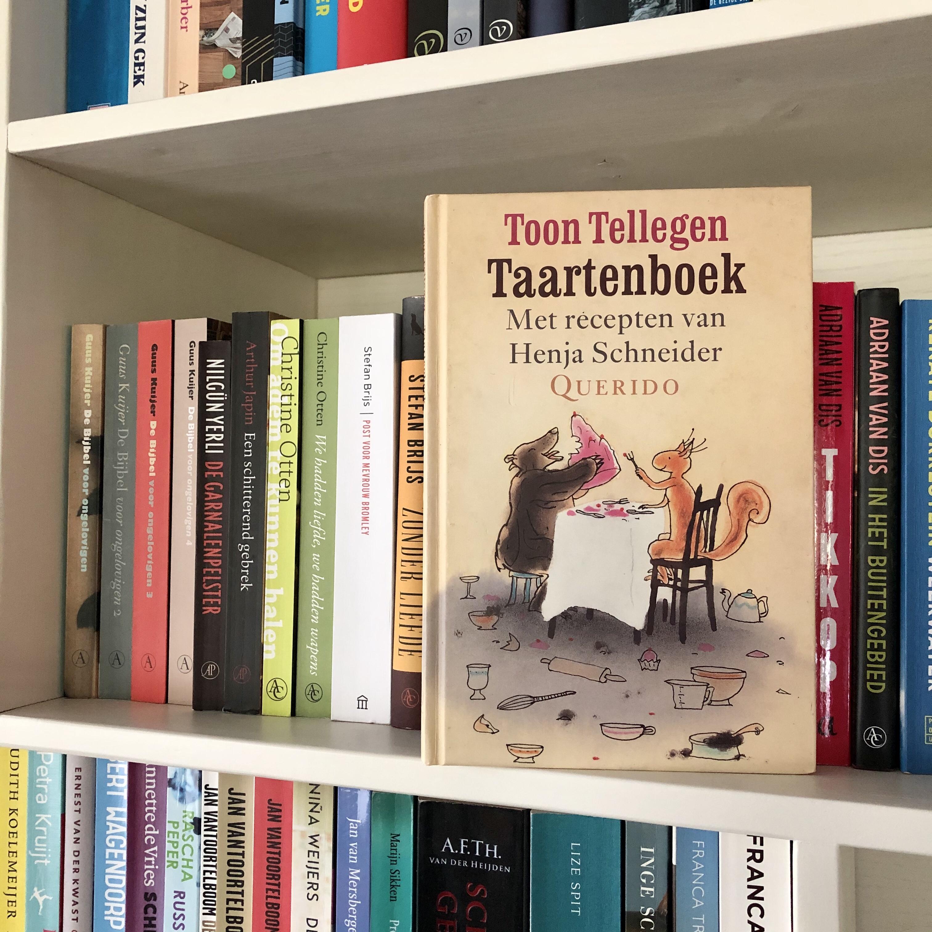 Taartenboek Toon Tellegen